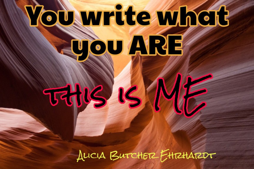 you write are