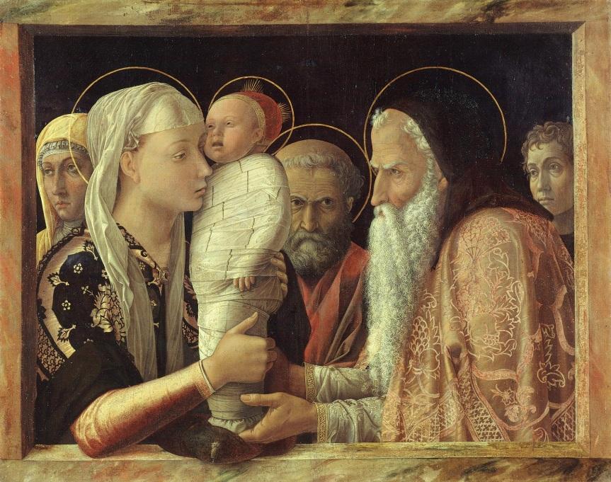 Mantegna: Presentation in the Temple